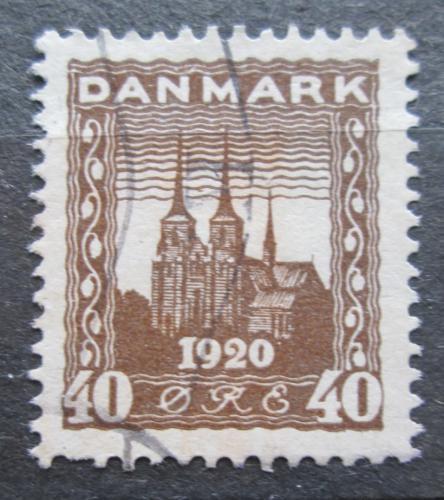 Poštovní známka Dánsko 1920 Katedrála v Roskilde Mi# 112 Kat 4.50€