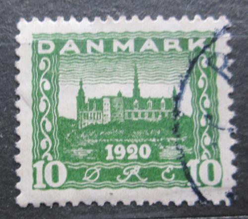 Poštovní známka Dánsko 1921 Zámek Kronborg Mi# 114