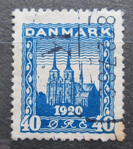 Poštovní známka Dánsko 1921 Katedrála v Roskilde Mi# 115 Kat 8€