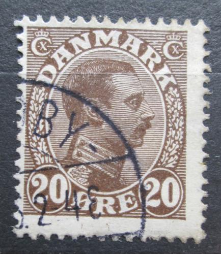 Poštovní známka Dánsko 1921 Král Kristián X. Mi# 121