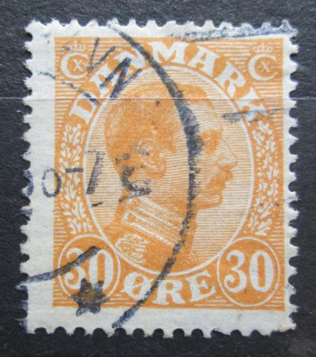 Poštovní známka Dánsko 1921 Král Kristián X. Mi# 123
