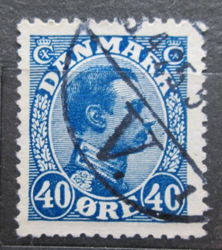 Poštovní známka Dánsko 1922 Král Kristián X. Mi# 124