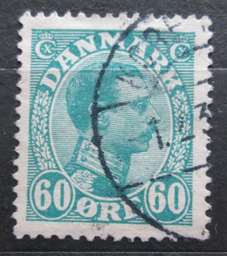 Poštovní známka Dánsko 1921 Král Kristián X. Mi# 127