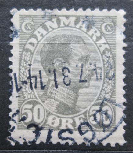Poštovní známka Dánsko 1921 Král Kristián X. Mi# 125 Kat 4€