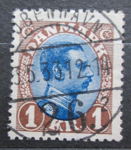 Poštovní známka Dánsko 1922 Král Kristián X. Mi# 128