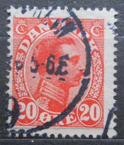 Poštovní známka Dánsko 1926 Král Kristián X. Mi# 146