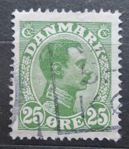 Poštovní známka Dánsko 1925 Král Kristián X. Mi# 147