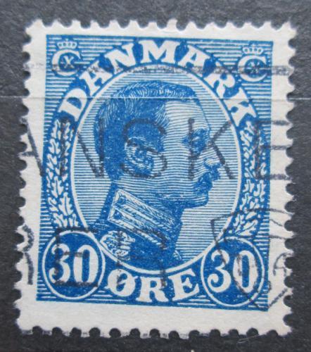 Poštovní známka Dánsko 1925 Král Kristián X. Mi# 148