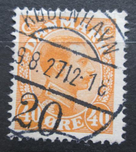 Poštovní známka Dánsko 1925 Král Kristián X. Mi# 149