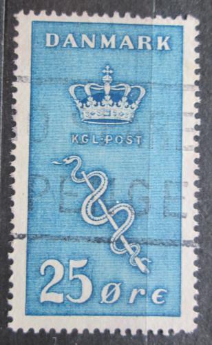 Poštovní známka Dánsko 1929 Boj proti rakovinì Mi# 179 Kat 35€