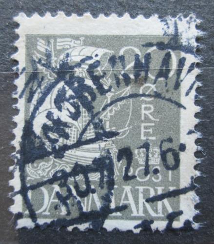 Poštovní známka Dánsko 1927 Karavela Mi# 169