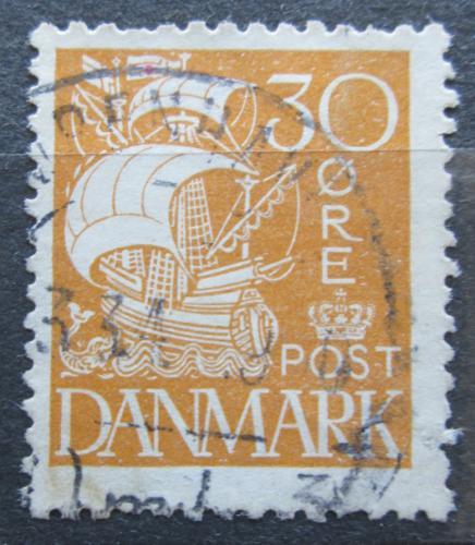 Poštovní známka Dánsko 1927 Karavela Mi# 171