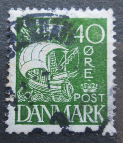 Poštovní známka Dánsko 1927 Karavela Mi# 173
