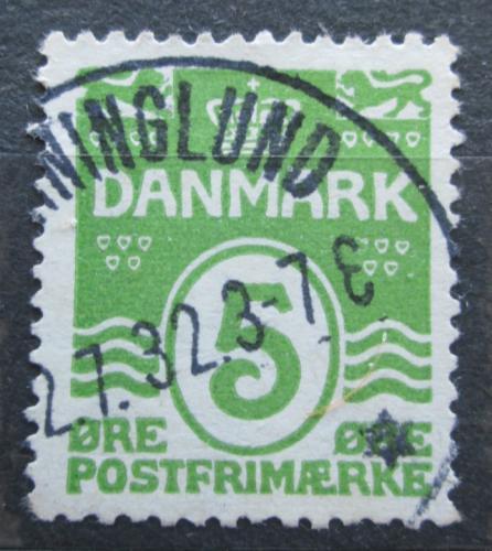 Poštovní známka Dánsko 1930 Nominální hodnota Mi# 182