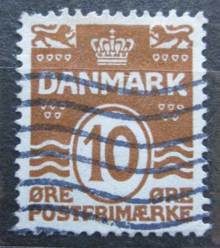 Poštovní známka Dánsko 1930 Nominální hodnota Mi# 184
