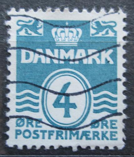 Poštovní známka Dánsko 1933 Nominální hodnota Mi# 197 I