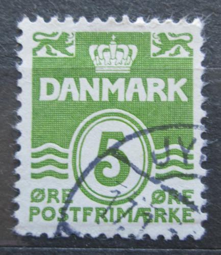 Poštovní známka Dánsko 1933 Nominální hodnota Mi# 198 Ia