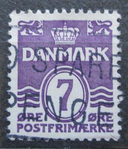 Poštovní známka Dánsko 1933 Nominální hodnota Mi# 199 I