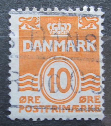 Poštovní známka Dánsko 1933 Nominální hodnota Mi# 201 II