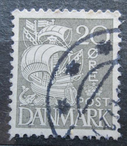 Poštovní známka Dánsko 1933 Karavela Mi# 203 I