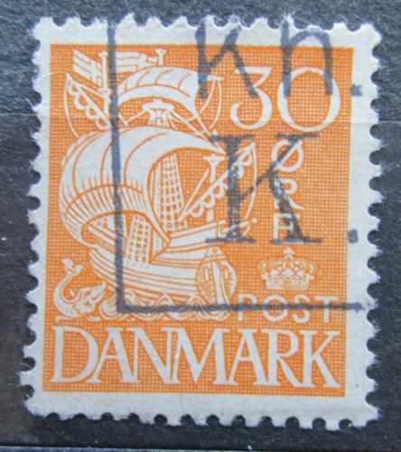 Poštovní známka Dánsko 1933 Karavela Mi# 205 I