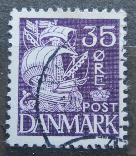 Poštovní známka Dánsko 1933 Karavela Mi# 206 I