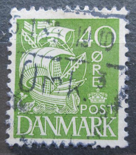 Poštovní známka Dánsko 1933 Karavela Mi# 207 I