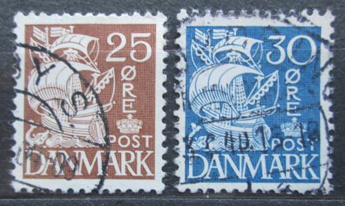 Poštovní známky Dánsko 1934 Karavela Mi# 208-09 I