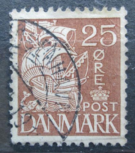Poštovní známka Dánsko 1934 Karavela Mi# 208 I