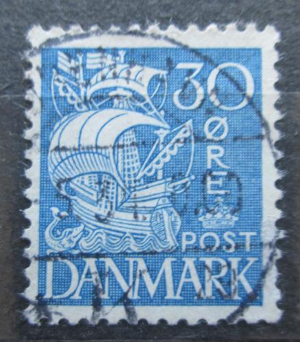 Poštovní známka Dánsko 1934 Karavela Mi# 209 I