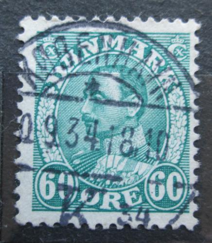 Poštovní známka Dánsko 1934 Král Kristián X. Mi# 211