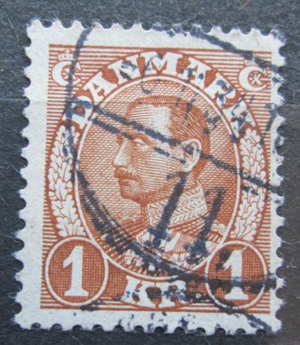 Poštovní známka Dánsko 1934 Král Kristián X. Mi# 212