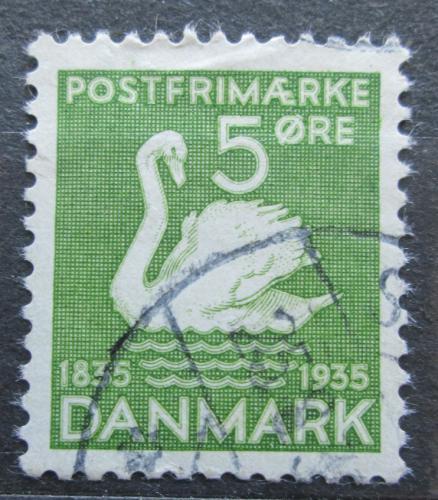 Poštovní známka Dánsko 1935 Labu� Mi# 222