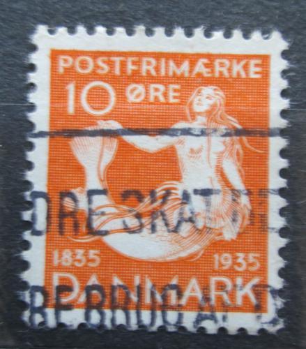 Poštovní známka Dánsko 1935 Malá moøská víla Mi# 224