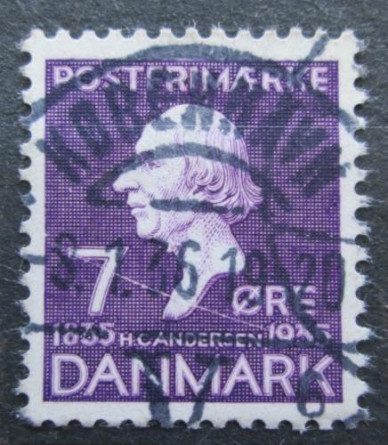 Poštovní známka Dánsko 1935 Hans Christian Andersen Mi# 223