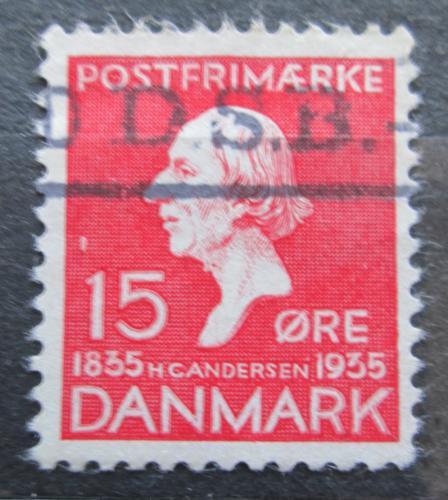 Poštovní známka Dánsko 1935 Hans Christian Andersen Mi# 225