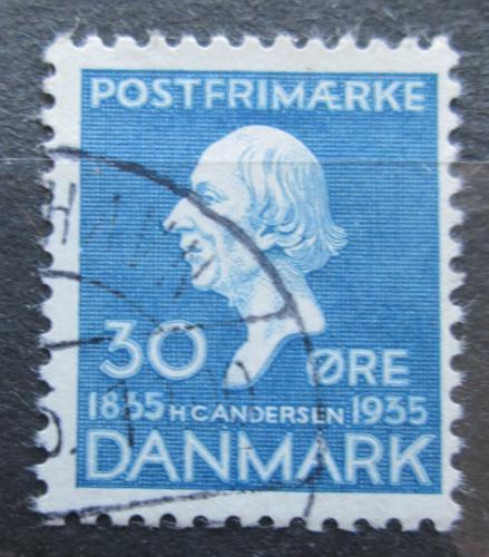 Poštovní známka Dánsko 1935 Hans Christian Andersen Mi# 227