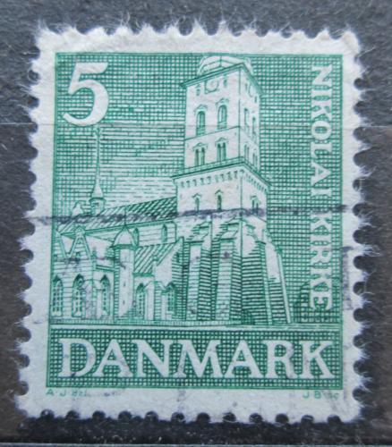 Poštovní známka Dánsko 1936 Kostel v Kodani Mi# 228