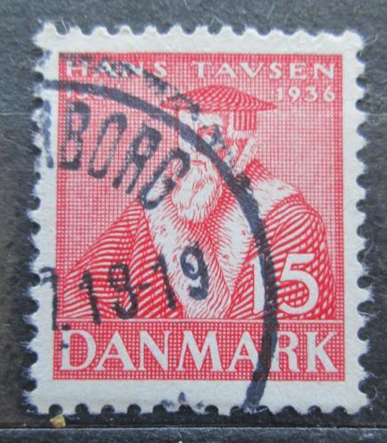 Poštovní známka Dánsko 1936 Hans Tausen, reformátor Mi# 231