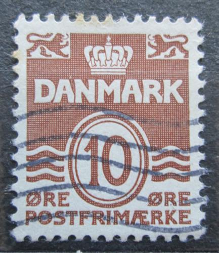 Poštovní známka Dánsko 1937 Nominální hodnota Mi# 233 I
