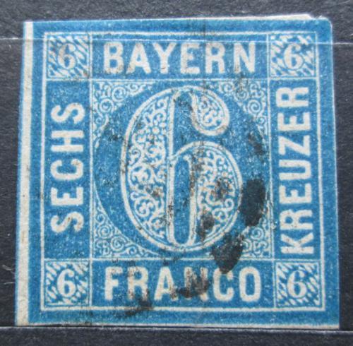 Poštovní známka Bavorsko 1862 Nominální hodnota Mi# 10 Kat 15€