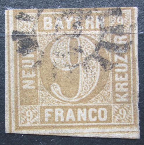 Poštovní známka Bavorsko 1862 Nominální hodnota Mi# 11 Kat 20€