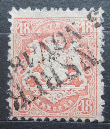 Poštovní známka Bavorsko 1870 Státní znak Mi# 27 Y Kat 40€