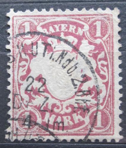 Poštovní známka Bavorsko 1881 Státní znak Mi# 53 Kat 6€
