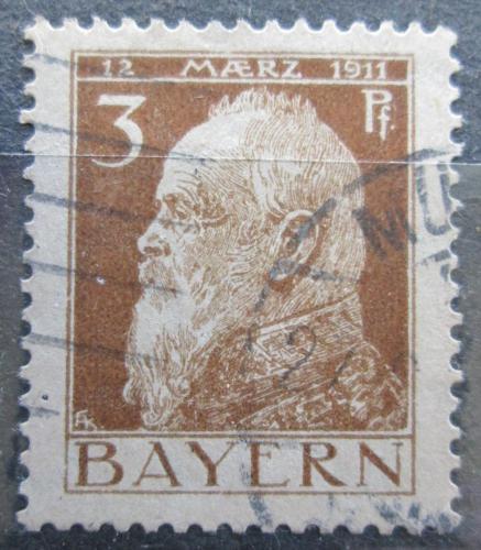 Poštovní známka Bavorsko 1911 Luitpold Bavorský Mi# 76