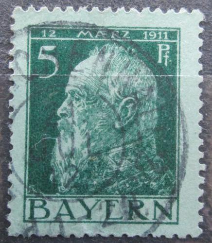 Poštovní známka Bavorsko 1911 Luitpold Bavorský Mi# 77