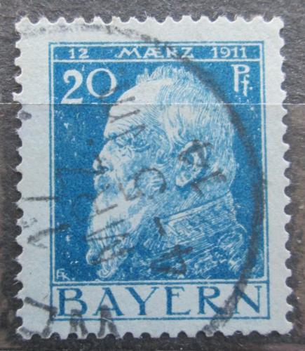 Poštovní známka Bavorsko 1911 Luitpold Bavorský Mi# 79