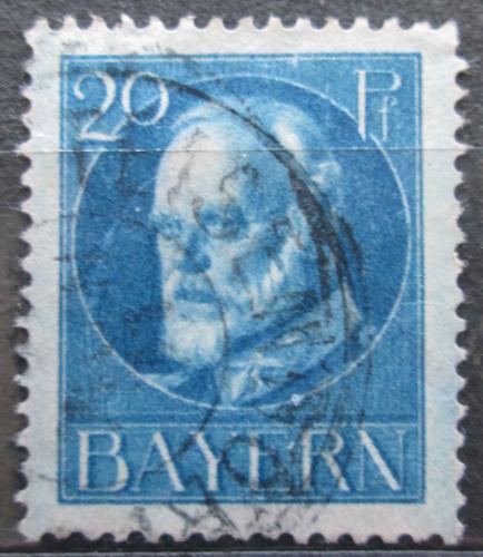 Poštovní známka Bavorsko 1914 Král Ludvík III. Mi# 97 I Kat 3.20€