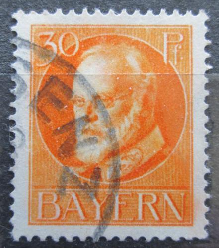 Poštovní známka Bavorsko 1914 Král Ludvík III. Mi# 99 I Kat 6€