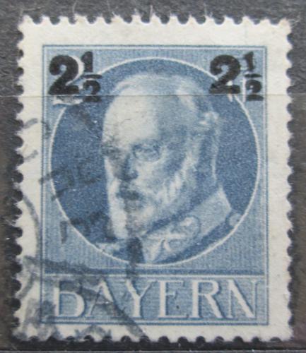 Poštovní známka Bavorsko 1916 Král Ludvík III. pøetisk Mi# 111 A Kat 3.20€